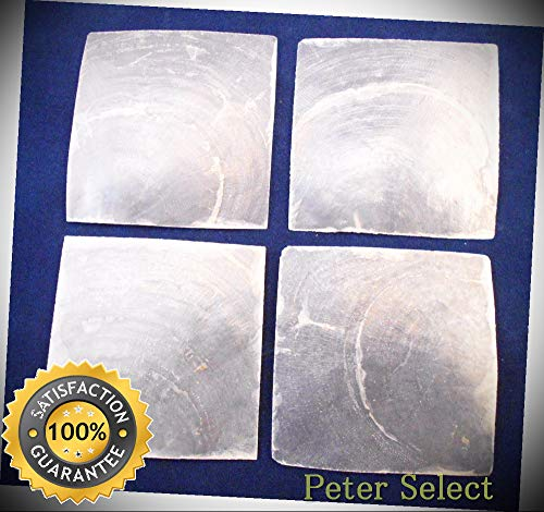 10 Capiz Shells Square Cut 2