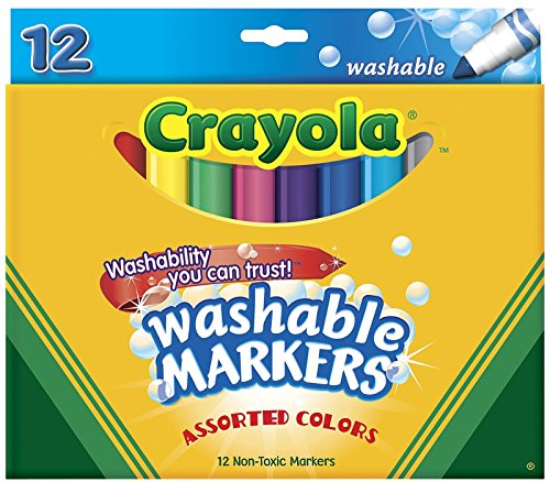 Crayola 12 Ct Washable Markers