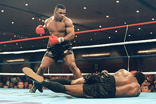 Mike Tyson Boxer Boxing Sports Silk fabric cloth Wall Poster