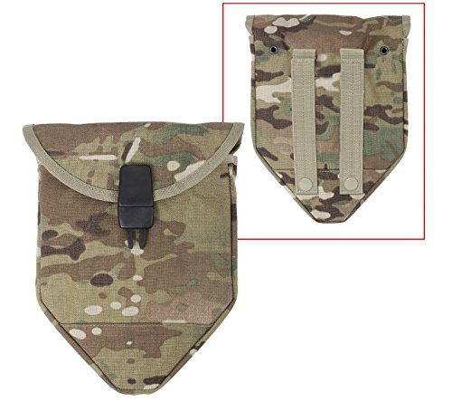 Rothco Multicam Camouflage Molle Compatible Shovel Cover for Tri Fold Shovel (Tri Cover Shovel Fold)