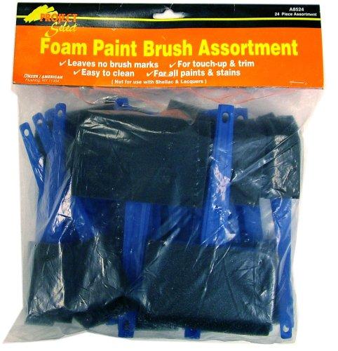 Linzer A-8524 Foam Brushes, ()