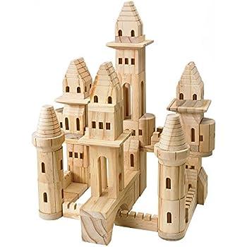 Treehaus Wood Castle Blocks