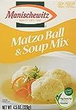 MANISCHEWITZ Matzo Ball & Soup Mix, 4.5-Ounce Boxes (Pack of 8)