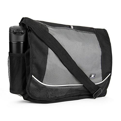 SumacLife Multiple Messenger Shoulder Notebook