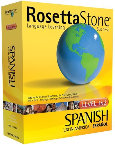 Rosetta Stone Spanish (Latin America) Level 1 AND 2 for Mac OS 8.6 OR LATER, Windows 98/Me, NT 4.0/2000, XP