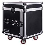 Sound Town 10U PA DJ Pro Audio Rack/Road ATA Case