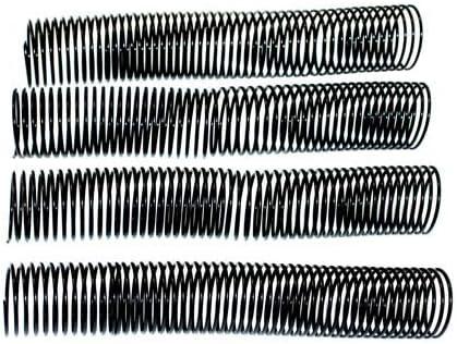 Black 100pk 12 Plastic Coil Binding 14mm 9//16