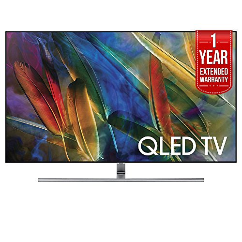 Price comparison product image Samsung QN75Q7FAM Flat 75-Inch 4K Ultra HD Smart QLED TV (2017 Model) with 1 Year Extended Warranty