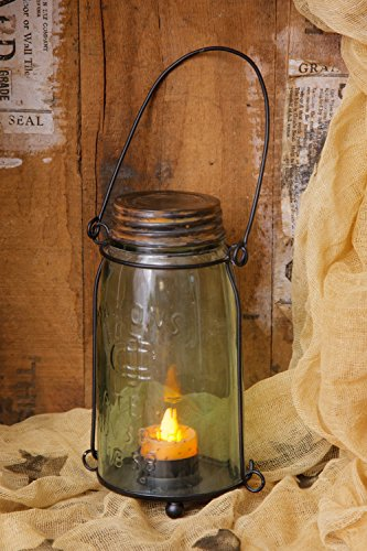 Your Hearts Delight Canning Jar Lantern, 7-1/2 by 3-3/4-Inch