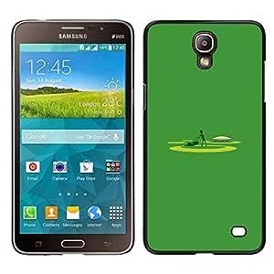 EJOY---Cubierta de la caja de protección para la piel dura ** Samsung Galaxy Mega 2 ** --Siega minimalista Trabajo Yard Lawn