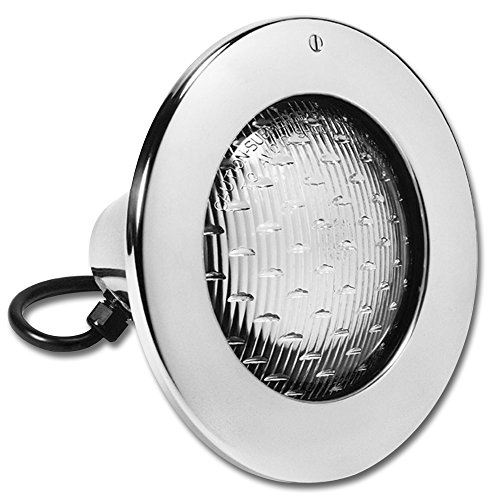 (Hayward SP0583SL50 AstroLite Pool Light, Stainless Steel Face Rim, 120-Volt  50-Foot Cord)