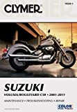 Suzuki Volusia/Boulevard C50 2001-2011 (Clymer Manuals: Motorcycle Repair)