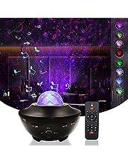 Led-sterrenhemel projector, galaxy projector met bluetooth luidspreker, nachtlampjes, met afstandsbediening, knutselset voor kinderen, voor thuis, decoratie slaapkamer, feest, Kerstmis, Halloween