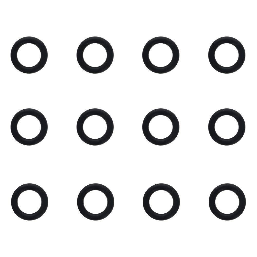 Pack of 12 Othmro Nitrile Rubber O-Rings 8mm OD 4mm ID 2mm Width Metric Buna-N Sealing Gasket