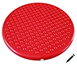 Cheap AppleRound Jr. Inflatable Seat Cushion with Pump, 31cm/12in Diameter for Kids, Red