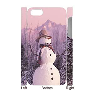 ALICASE Diy 3D Protection Hard Case Snowman For Iphone 5C [Pattern-1] Kimberly Kurzendoerfer