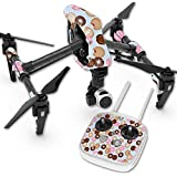Skin For DJI Inspire 1 Quadcopter Drone – Donut Binge | MightySkins Protective, Durable, and Unique Vinyl Decal wrap cover | Easy To Apply, Remove, and Change Styles | Made in the USA