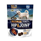 VetIQ Hip & Joint Chews for Dogs, 180 ct. Review