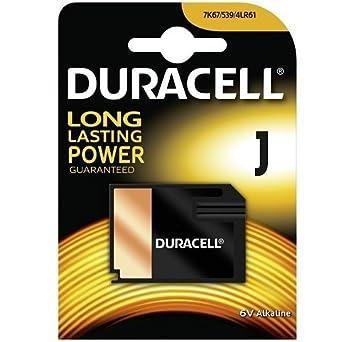 Duracell - Pila especial para alarmas y mandos a distancia - J(7K67) x 1