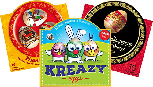 30 Easter Egg Wraps/Sleeves - Folk, Faberge & Kids Special Edition