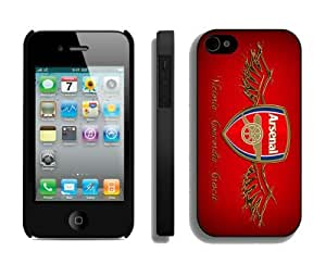 Designer Case for Iphone 4s Arsenal Team 1 Best Soccer Iphone 4 Cover Mobile Phone Accessories by icecream design