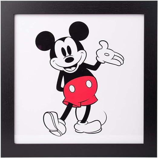 Grupo Erik Cuadro Infantil Disney Mickey, Micke/Classic, 30 x 30 ...