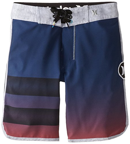 Hurley Big Boys' Destroy2 Boardshort-Midnight Navy, Midnight Navy, 20