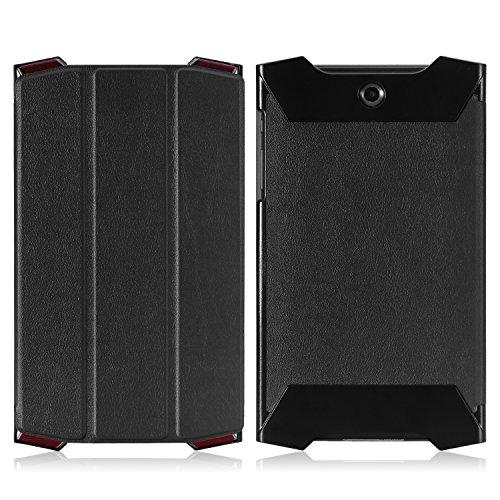 MoKo ACER Predator 8 Case - Ultra Slim Lightweight Smart-shell Stand Cover Case for ACER Predator 8 GT-810 8.0 inch Tablet, BLACK