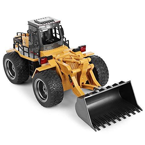 XuBa Neue RC Lkw 1 18 2,4 2,4 2,4 GHz 6CH RC Legierung Lkw Baufahrzeug Spielzeug RC Bulldozer Engineering Car RC Spielzeug Geschenke f\u00fcr Kinder Jungen as picture show 01ac30