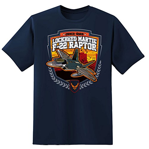 F 22 Lockheed Martin Raptor Mens T Shirt Xxl Navy