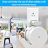 Google WiFi Wall Mount, WiFi Accessories for Google Mesh WiFi System and Google WiFi Router Without Messy Wires or Screws