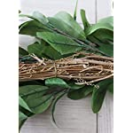 Floral-Home-Artificial-Lambs-Ear-and-Rosemary-Leaf-Grapevine-Garland-6-Long