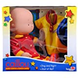"""Caillou 14"""" Exclusive Day and Night Doll with Two Outfits"""