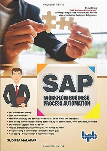 SAP: Workflow Business Process Automation