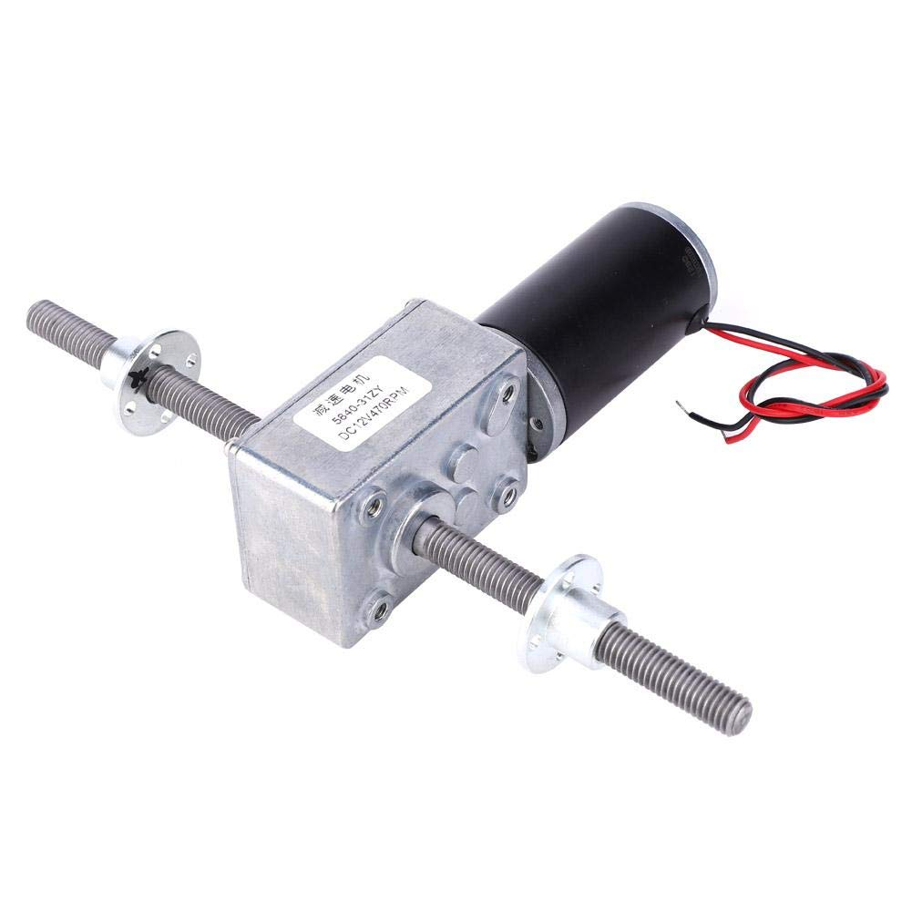 Worm Gear Motor Right and Left Hand Shaft Coaxial M8 Thread Speeds Reduction 1280 Motor with Flange 290 Enjoy Quality Life