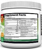 Super Greens Powder - Dr. Approved Formula with 45+ Organic Green Superfoods - Alfalfa, Bilberry, Spirulina, Chlorella & More - Keto Friendly Vegan Supplement - 3 Servings of Veggies per Scoop