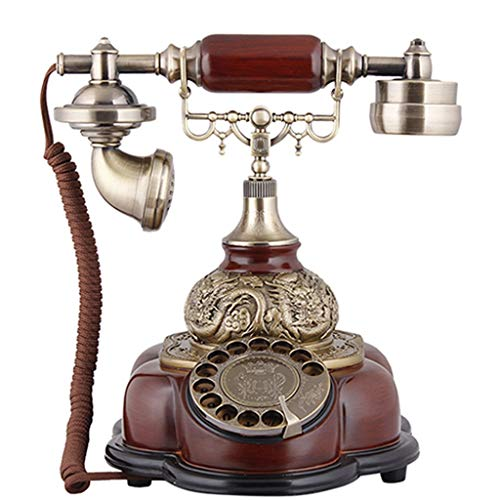 GJ Antique Telephone Turntable European Retro Home Landline Antique Vintage Creative Fashion from GJ