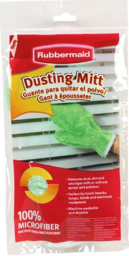 Rubbermaid FG6M0306 Microfiber Dusting Mitt/Cloth, (Dusting Mitt)