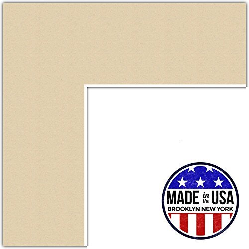 20x24 Seaside / Seaside Custom Mat for Picture Frame with 16x20 opening size (Mat Only, Frame NOT Included)