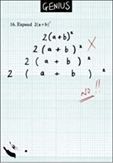 Humorous greeting card genius homework blunder what is a woodmansterne humorous greeting card genius homework blunder expand 2 ab m4hsunfo