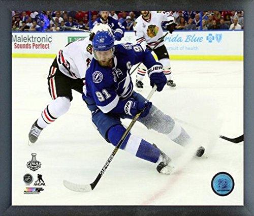 "Steven Stamkos Tampa Bay Lightning 2015 NHL Stanley Cup Finals Action Photo (Size: 12"" x 15"") Framed"