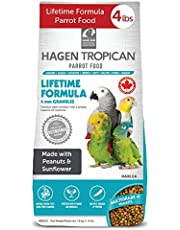 Tropican Lifetime Formula Granules for Parrots - 1.8 kg (4 lb)