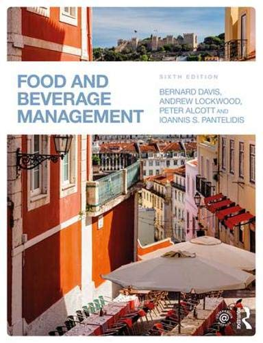 Food and Beverage Management by Routledge