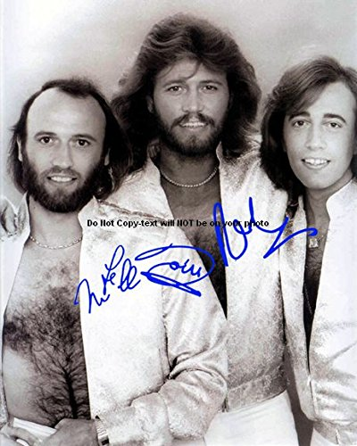 Bee Gees Autographed Preprint Signed 11x14 Poster Photo 7