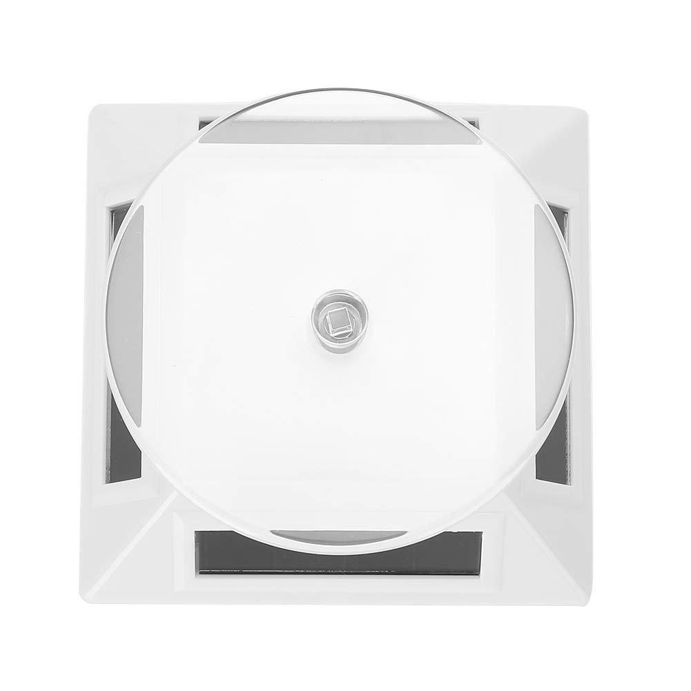 Oumij Padelle Espositore per Gioielli 0-500G Vetrina Solare a 360 Gradi Girevole Giradischi Guarda Il Telefono Organizzatore Gioielli Espositore Nero