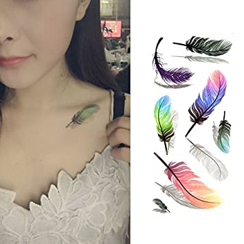 Amazon Com Oottati 3d Assorted Colorful Fluttering