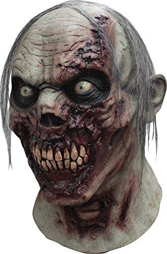 Alien Walker Halloween Costume (Ghoulish Men's Horror Furious Walker Zombie Latex Mask Halloween Costume)