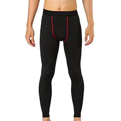 447ababa0caec Compression Tights Pants, 5 Types Tight Leggings Men Sport Long Pants  Running Training Exercise Trousers