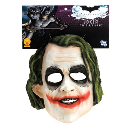 [Batman The Dark Knight The Joker Child Mask] (Joker Costumes Kids)