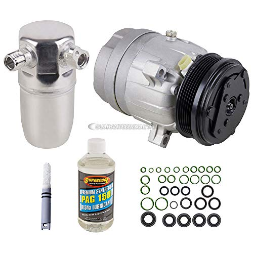 AC Compressor w/A/C Repair Kit For Pontiac Grand Prix Buick Regal Chevy - BuyAutoParts 60-80133RK New ()